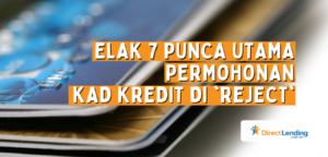 bank reject permohonan kad kredit